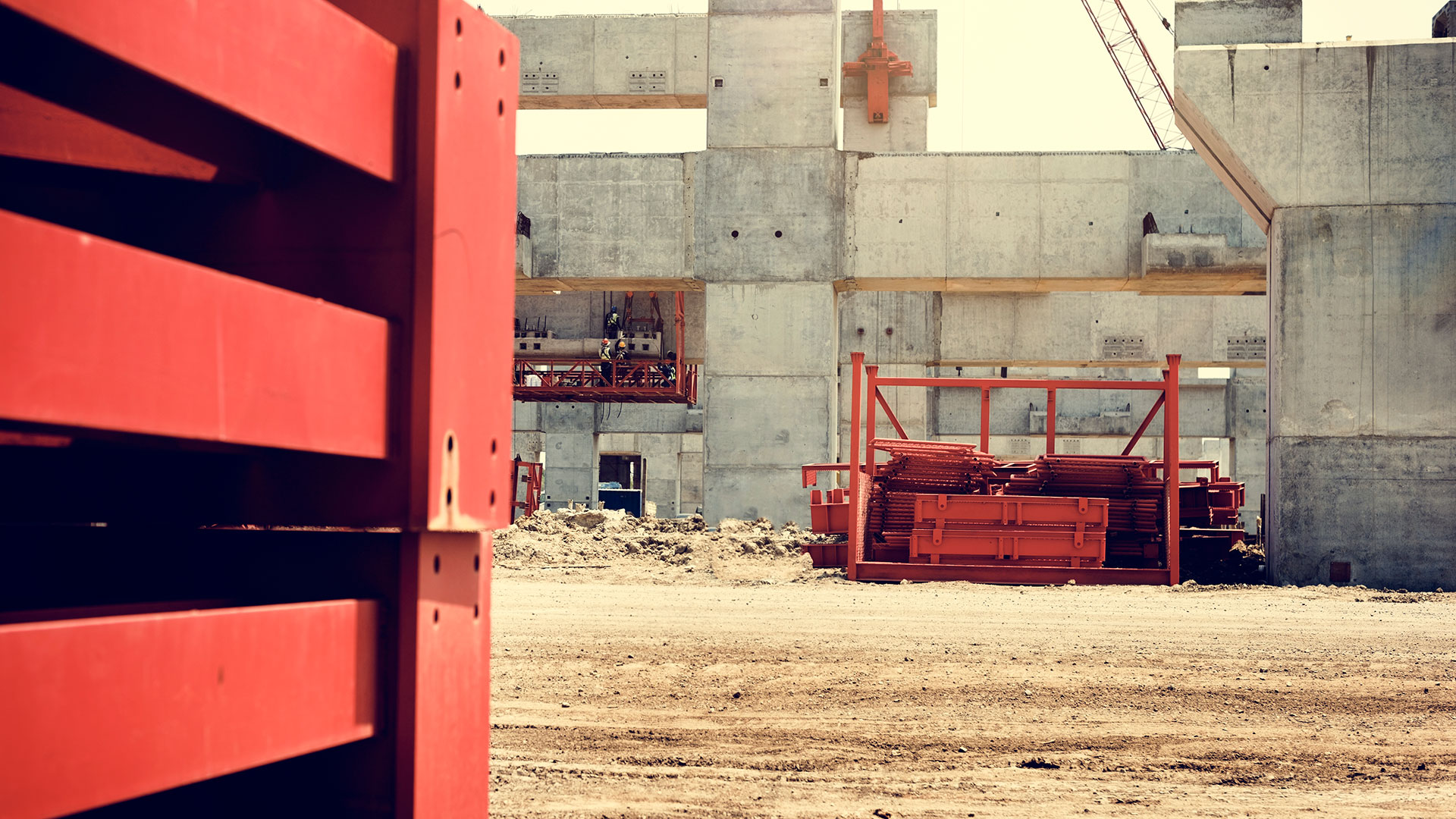 Architect Building Construction Engineer Safety Concept