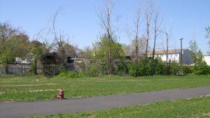 Bristol Steel brownfield site before redevelopment