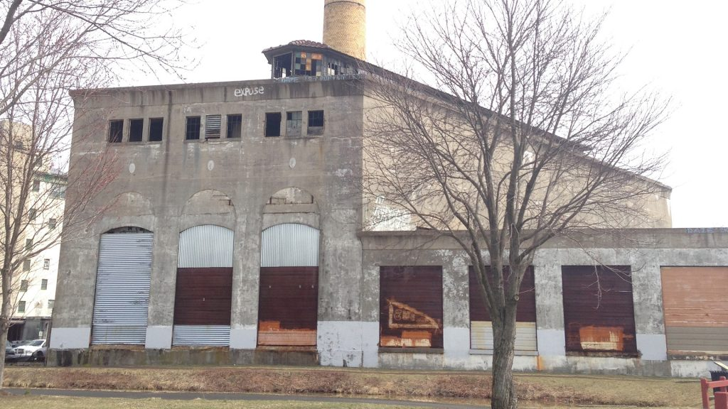 Grundy Powerhouse brownfield project before redevelopment