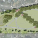 Cedar Park Rendering at former Quaker Rubber site